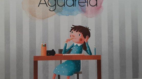 """O livro da ENA """"Aguarela"""", selecionado para a fase municipal do Concurso Nacional de Leitura em Palmela"""