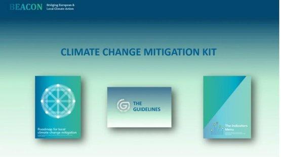 Já disponível o Kit de Mitigação das Alterações Climáticas do projeto BEACON!