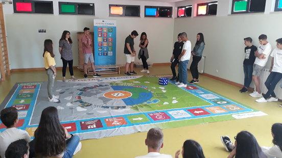 A ENA celebra o Dia Nacional da Energia com ações de sensibilização e jogos didáticos numa escola de Poceirão