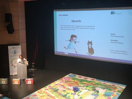 A ENA apresenta em Sesimbra a sua nova estratégia pedagógica para valorizar o recurso água entre crianças