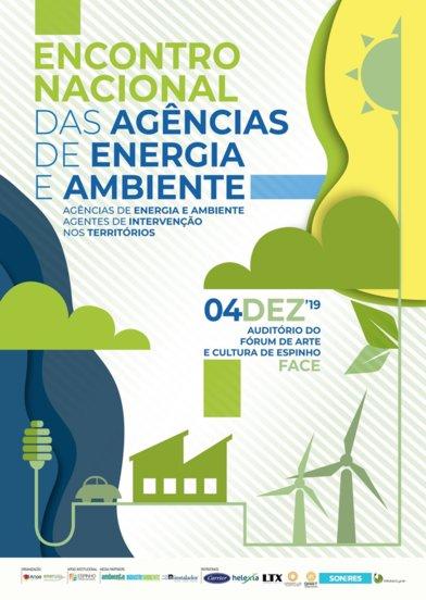 O próximo Encontro Nacional das Agências de Energia e Ambiente (ENAEA2019) será o dia 4 de dezembro em Espinho.