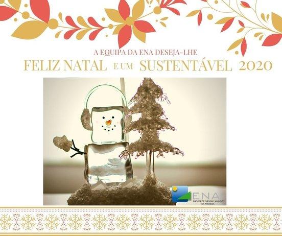 A equipa da ENA deseja-lhe Feliz Natal e um Sustentável 2020!
